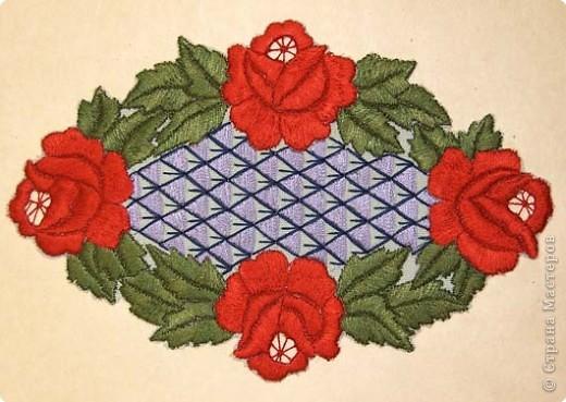 Вышивка: Машинная вышивка фото 4