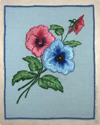 Вышивка: Машинная вышивка фото 2