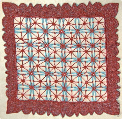 Вышивка: Машинная вышивка фото 6