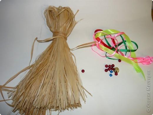 """Плетение: народная кукла """"Коза"""" фото 2"""