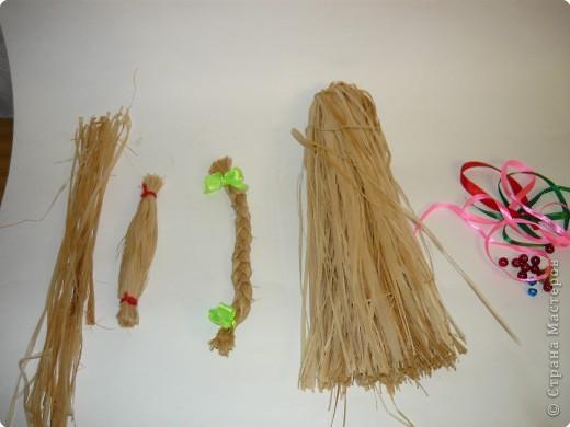 """Плетение: народная кукла """"Коза"""" фото 5"""