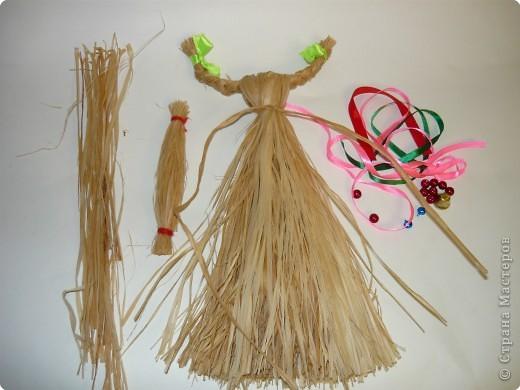 """Плетение: народная кукла """"Коза"""" фото 6"""