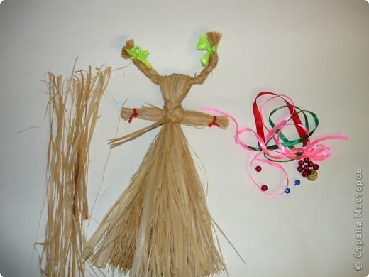 """Плетение: народная кукла """"Коза"""" фото 7"""