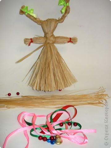 """Плетение: народная кукла """"Коза"""" фото 8"""