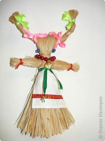"""Плетение: народная кукла """"Коза"""" фото 9"""