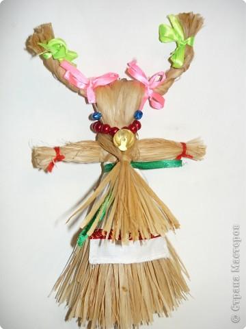 """Плетение: народная кукла """"Коза"""" фото 1"""