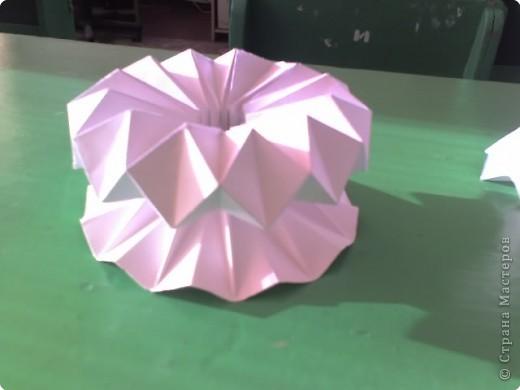 Бумагопластика: вазочки фото 2