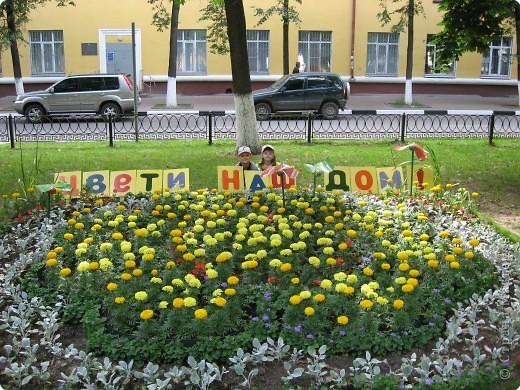 """В нашем городе уже третий год подряд проходит фестиваль-конкурс """" Городские цветы."""" Каждый раз мы с большим удовольствием созерцаем красоту, созданную природой и людьми. фото 2"""
