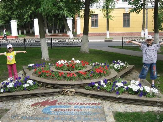 """В нашем городе уже третий год подряд проходит фестиваль-конкурс """" Городские цветы."""" Каждый раз мы с большим удовольствием созерцаем красоту, созданную природой и людьми. фото 3"""