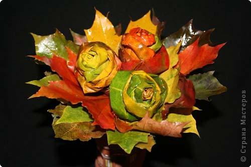 Моделирование: Осенний букет
