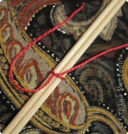 Мастер-класс Поделка изделие Плетение Радужная мандала Пряжа фото 3
