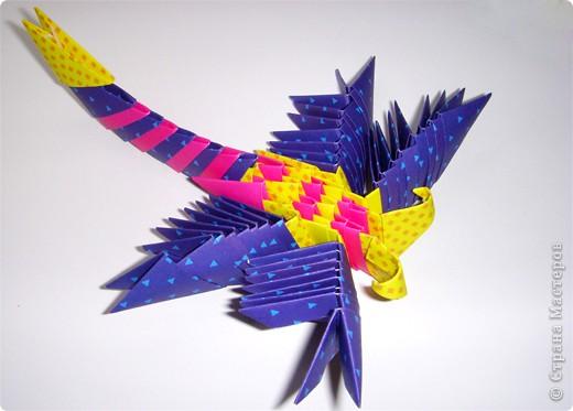 Оригами модульное: Стрекоза фото 1