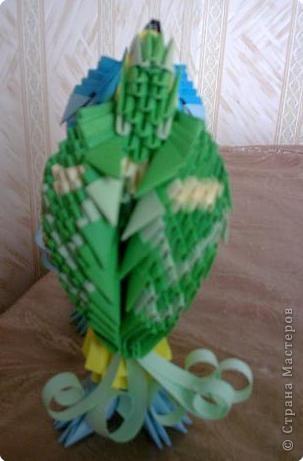 Оригами модульное: Попугайчики) фото 3