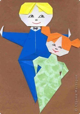 Оригами: Дети