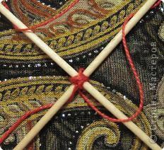 Мастер-класс Поделка изделие Плетение Радужная мандала Пряжа фото 6