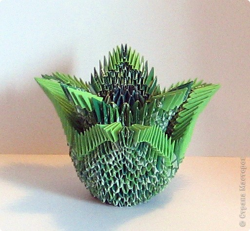 Оригами модульное: по мотивам сказов Бажова фото 4