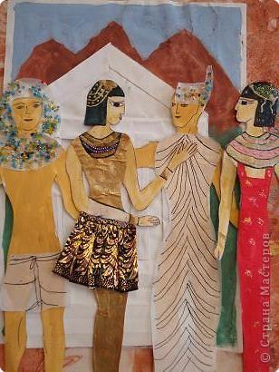 Аппликация: Египет. Декор костюма.