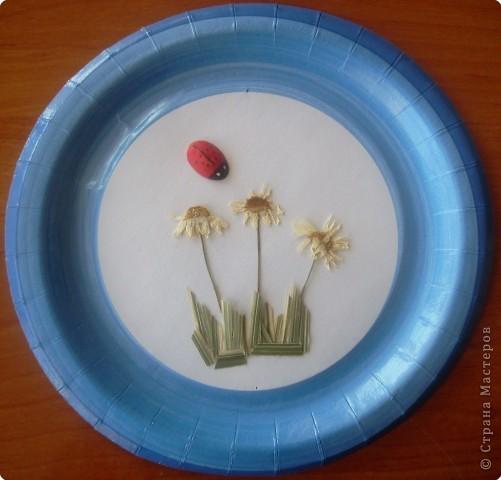 Аппликация: Одноразовые - а у нас многоразовые тарелочки фото 3