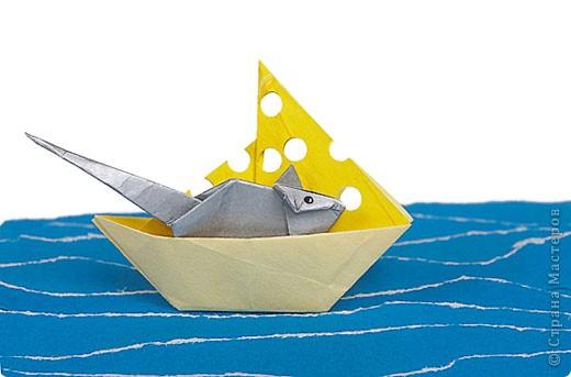 Сырный кораблик