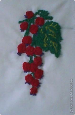 Вышивка узелками. Работа ученицы Большаковой Олеси фото 2