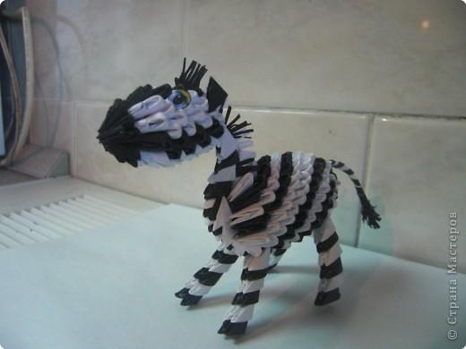 Попробовала сделать зебру. фото 1