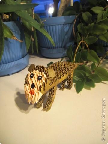 Оригами модульное: Обезьянка фото 3