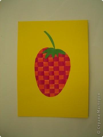 Полотняное плетение. Ягоды и фрукты. фото 4