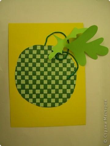 Полотняное плетение. Ягоды и фрукты. фото 2