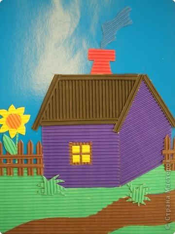Аппликация, Квиллинг: Поделки из гофрированного картона. фото 4