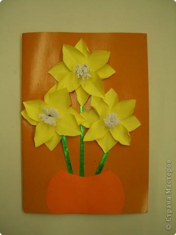 Аппликация, Оригами, Плетение: Открытки. фото 4