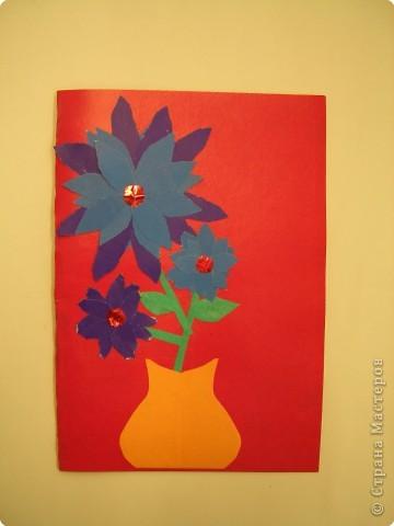 Аппликация, Оригами, Плетение: Открытки. фото 5