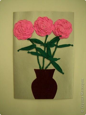 Аппликация, Оригами, Плетение: Открытки. фото 6