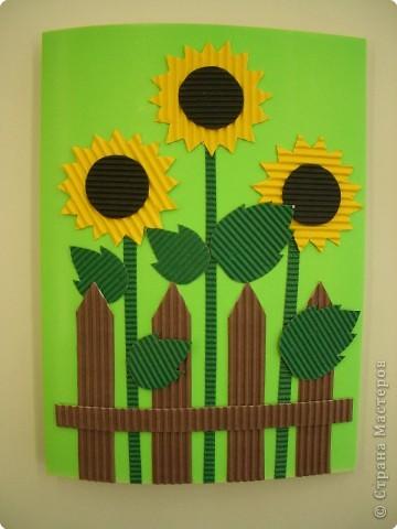 Аппликация, Оригами, Плетение: Открытки. фото 9