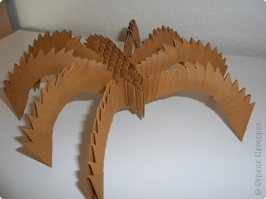 модульное паук Бумага