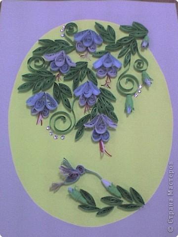 Квиллинг: Мои цветы фото 2