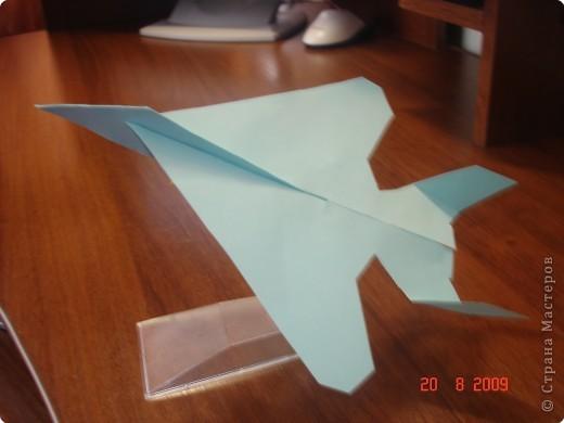 Моделирование: Самолёт из бумаги ( Локхид F 117 Найт Хоук )