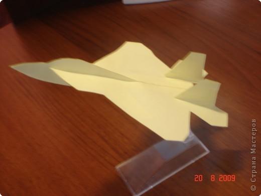 Моделирование: Самолёт из бумаги ( Локхид F 22 Рэптор )