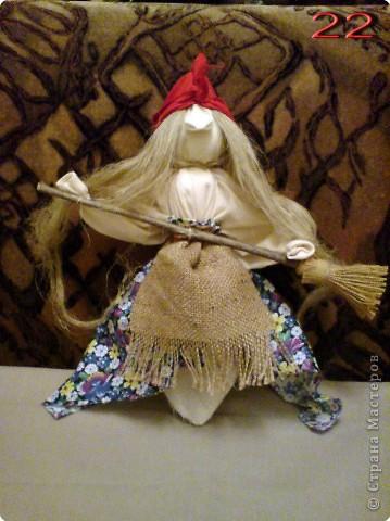 Куклы Мастер-класс Моделирование конструирование Тряпичная кукла Вата Нитки Ткань