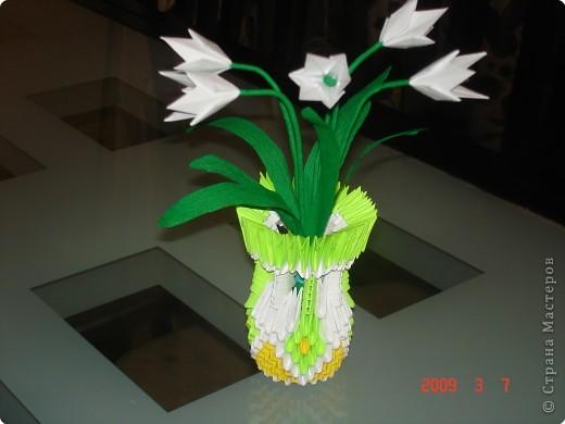 Моя проба в модульном оригами
