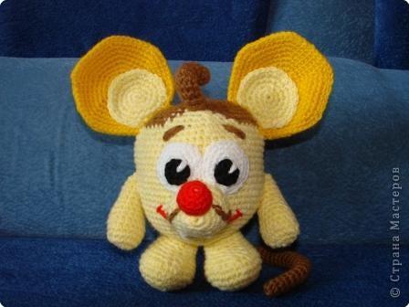 Вязание крючком: Мышарик. фото 1