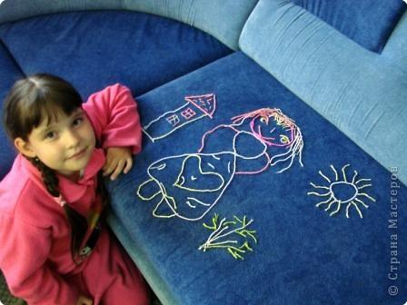 Вязание спицами: Куколка. фото 4