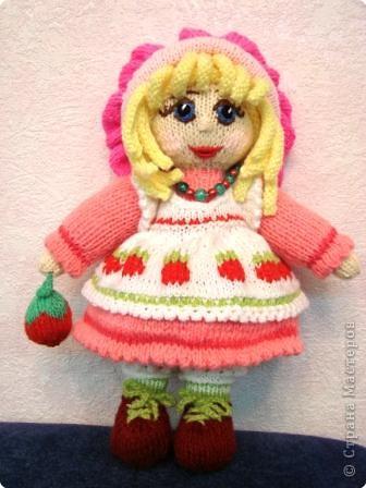 Вязание спицами: Куколка. фото 1