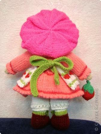 Вязание спицами: Куколка. фото 2