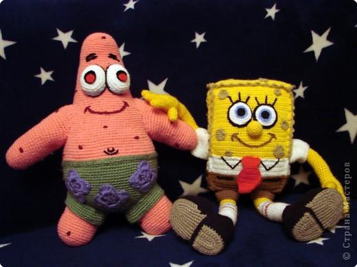 Вязание крючком: Патрик - лучший друг Спанч Боба. фото 2