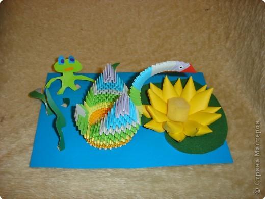 Оригами модульное: Озеро в домашних условиях
