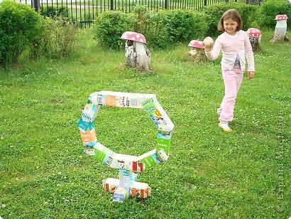 Сад своими руками для детей своими руками