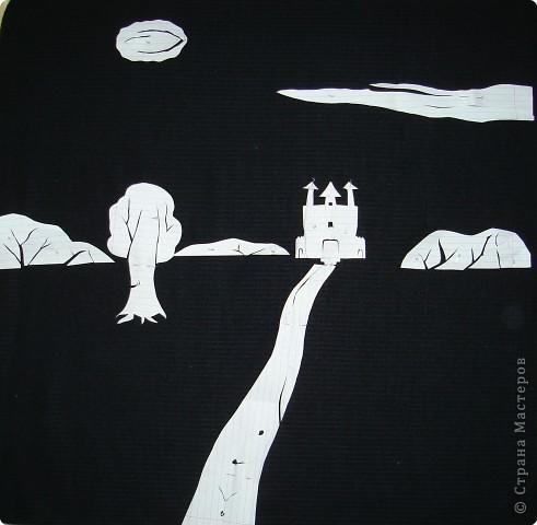 Вырезание симметричное, Вытынанка: Иллюстрации к сказкам Андерсена. фото 5