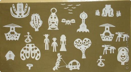 Вырезание симметричное, Вытынанка: Иллюстрации к сказкам Андерсена. фото 3