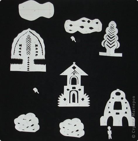 Вырезание симметричное, Вытынанка: Иллюстрации к сказкам Андерсена.