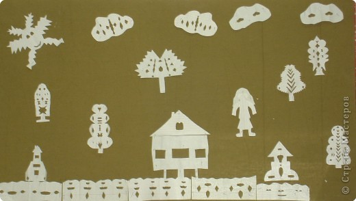 Вырезание симметричное, Вытынанка: Иллюстрации к сказкам Андерсена. фото 2